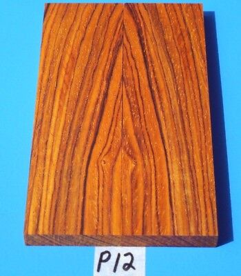 Colors Cocobolo Rosewood Knife Blank Handle Scales~Exotic Wood