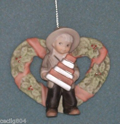 Kim Anderson's Pretty As A Picture Hanging Ornament ...good Things Come In....