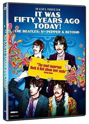 DVD It Was Fifty Years Ago Today ! The Beatles: Sgt Pepper and Beyond