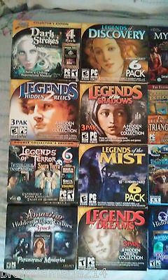 Legends  24  game lot hidden object puzzle game used once #puzzle #legends