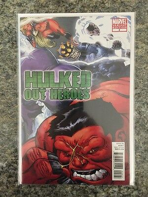 Marvel Hulked Out Heroes #2 Nm+ 9.6  Mcguiness Incentive Variant  Vhtf