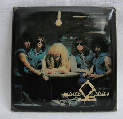 Pinback Button Twisted Sister 1980s Vintage Metal Rock Music Glam T S Badge Pin