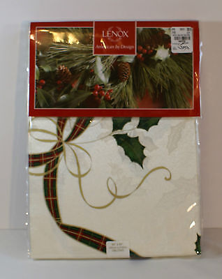 LENOX Bardwil Holiday Nouveau Tablecloth Oblong 60 x 84 NIP (New in Package)