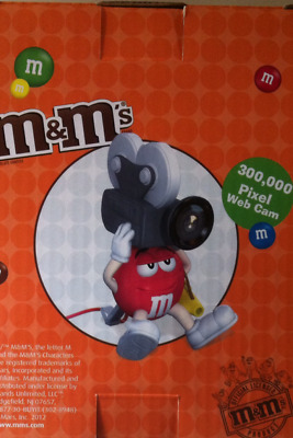 M&M Webcam  300000 Pixel  New In Box   Suit Collector  Very Rare  Express Post