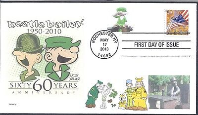 BEETLE BAILEY  60 YEARS ANNIVERSARY 1950           FDC- DWc CACHET