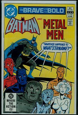 DC Comics The BRAVE And The BOLD #187 BATMAN And The METAL MEN NM 9.4