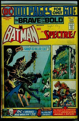 DC Comics The BRAVE And The BOLD #116 BATMAN And The SPECTRE G/VG 3.0