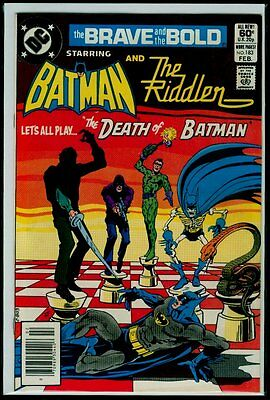 DC Comics The BRAVE And The BOLD #183 BATMAN And The RIDDLER VFN 8.0
