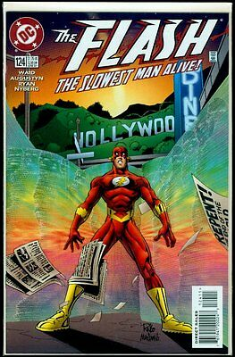 DC Comics FLASH #124 1987 Series NM 9.4