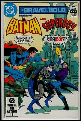 DC Comics The BRAVE And The BOLD #192 BATMAN And SUPERBOY NM- 9.2