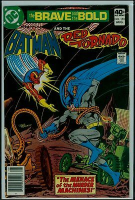 DC Comics The BRAVE And The BOLD #153 BATMAN And The RED TORNADO VFN- 7.5