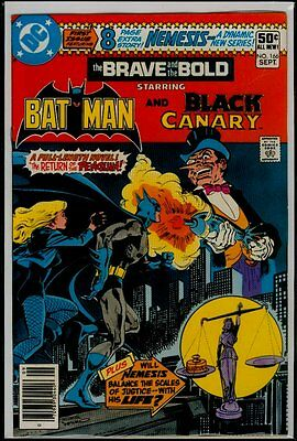 DC Comics BRAVE And The BOLD #166 BATMAN And BLACK CANARY vs Penguin FN/VFN 7.0