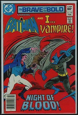 DC Comics The BRAVE And The BOLD #195 BATMAN And I... VAMPIRE VFN- 7.5