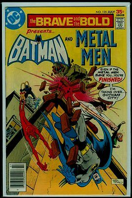 DC Comics The BRAVE And The BOLD #135 BATMAN And METAL MEN FN/VFN 7.0