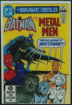DC Comics The BRAVE And The BOLD #187 BATMAN And The METAL MEN VFN/NM 9.0
