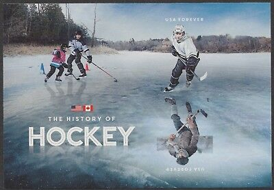 US 5253b History of Hockey forever souvenir sheet MNH 2017 after 10/27