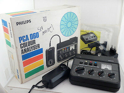 Philips PCA 060 Timer Colour Analyser with Box Instructions IFF DURST 1200