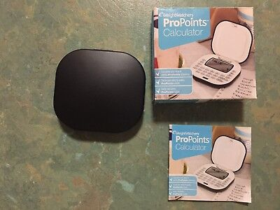 weightwatchers propoints calculator (only been used couple of times)