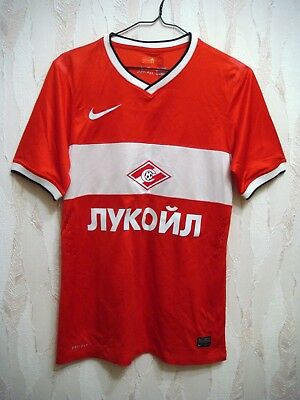 Spartak Moscow 2013/2014 PLAYER ISSUE Nike Football Soccer Shirt Jersey Trikot