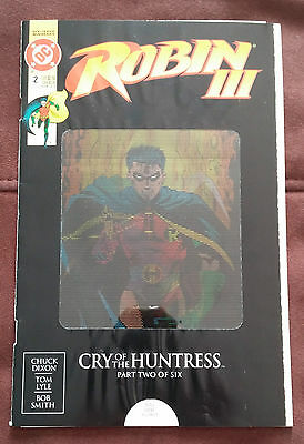 Dc Robin Iii  #2 Of 6  Cry Of The Huntress**nm-Mt