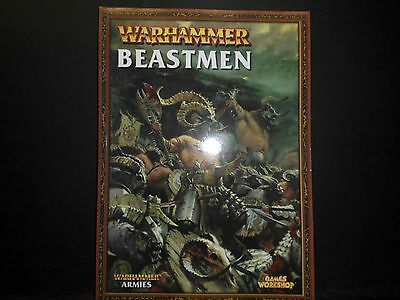 Warhammer Fantasy Beastmen Book 2009 Ed. [Pack of 1 Softcover Book].