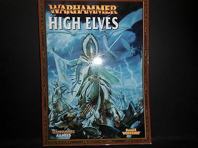 Warhammer Fantasy High Elves Book 2007 Ed. [Pack of 1 Softcover Book].