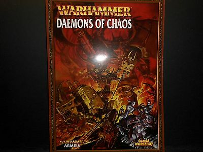 Warhammer Fantasy Daemons of Chaos Book 2007 Ed.[Pack of 1 Softcover Book].