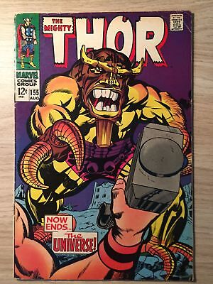 Thor, The Mighty #155 1968