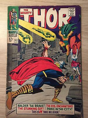 Thor, The Mighty #143 1967