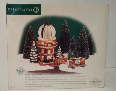 Dept 56 The Old Royal Observatory Dickens' Village Limited Edition