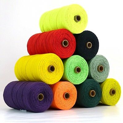 Very Strong 2mm Polyester Macrame Cord, Weaving Yarn,Crochet, Garden String 500g