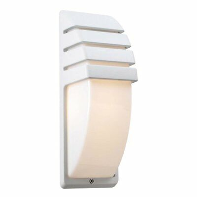 PLC Lighting 1832 WH Outdoor Fixture, Synchro Collection, White finish