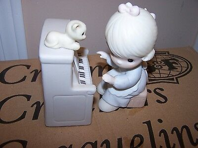 Precious Moments Figurine - Lord Keep My Life In Tune, 12580