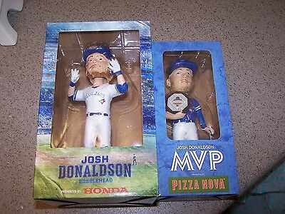 2 JOSH DONALDSON BOBBLE HEADS 2016-2017 new in box