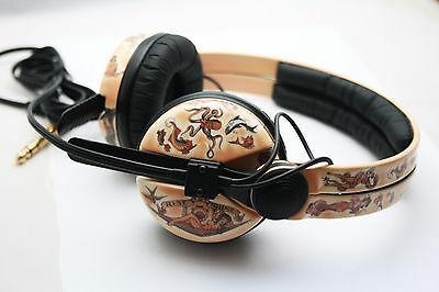 ONE OF A KIND Custom Cans Sennheiser HD25 Sailor Jerry's 2yr warranty