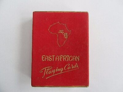 Vintage East African playing cards in  Mint Condition 1957