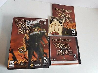 Vintage Lord of the Rings 2 CD Video Game for PC Cd-Rom 2003 Windows 98
