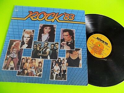 Vtg Record LP 1980s Rock 1983 Villy Idol Cyndi Lauper Men at Work Duran Duran +