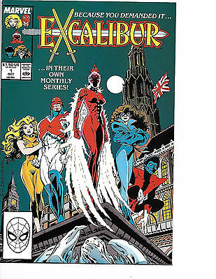 Excalibur # 1 - Copper Age (1st Series) - Solid VF + (8.5)