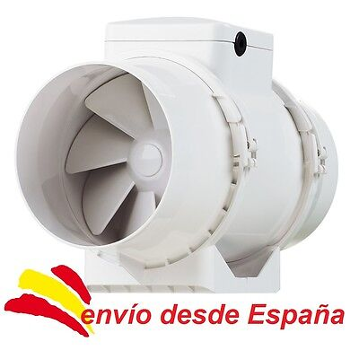 Vents TT 125 TurboTube 2-Velocidades Ventilador Extractor Tubular 280m³ [125mm]