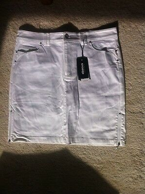 Abacus Ladies Frida Skort White NEW with tags Great Quality