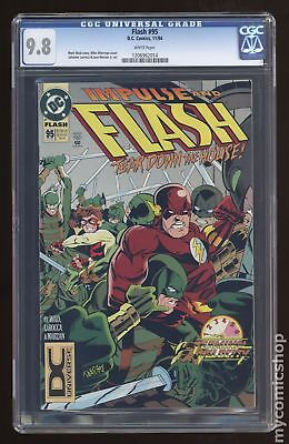 Flash (1987 2nd Series) #95 CGC 9.8 1206962014
