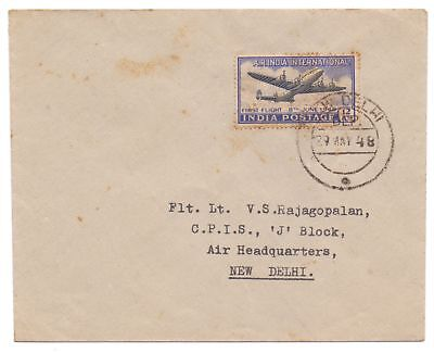 India 1948 Air India First Day Cover 29Th May, 1948 Cds New Delhi