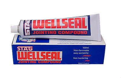Stag Wellseal Gasket Jointing Compound 100ml  The Best for Rover K series
