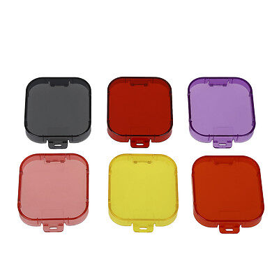 Brand New 6 in 1 Diving Color Filter Lens Cover for GoPro Hero5 4K Cam Accessory