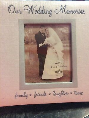 Wedding Photo Album White Cover Holds 200 4x6 inch photos