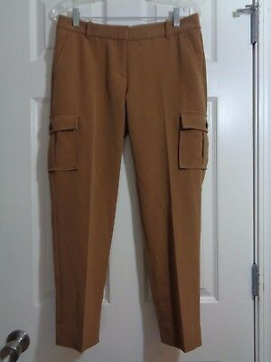 The Limited Women's Capri Pants Brown Cargo Pockets Drew Fit Size 6