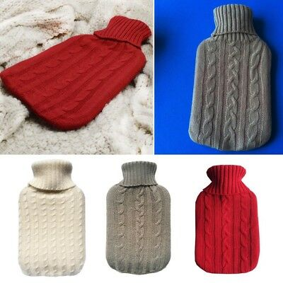 Thick Knitted Hot Water Bag Cover For 2000ml Heat Preservation 2017