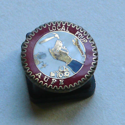 Union of Public Employees Local 4 Trades Pin