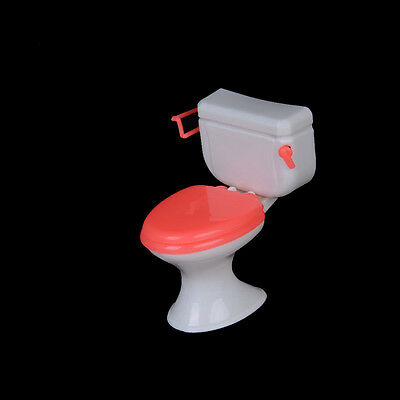 Hot 1pcs Doll Accessories Plastic Toilet Doll Toys Bathroom Home Furniture S&U